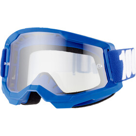 100% Strata Occhiali antiappannamento Gen2, blu